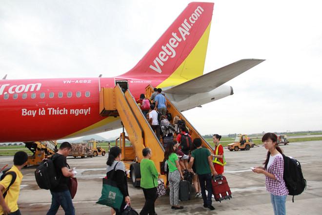 Hành khách gây hỗn loạn trên phi cơ Vietjet Air