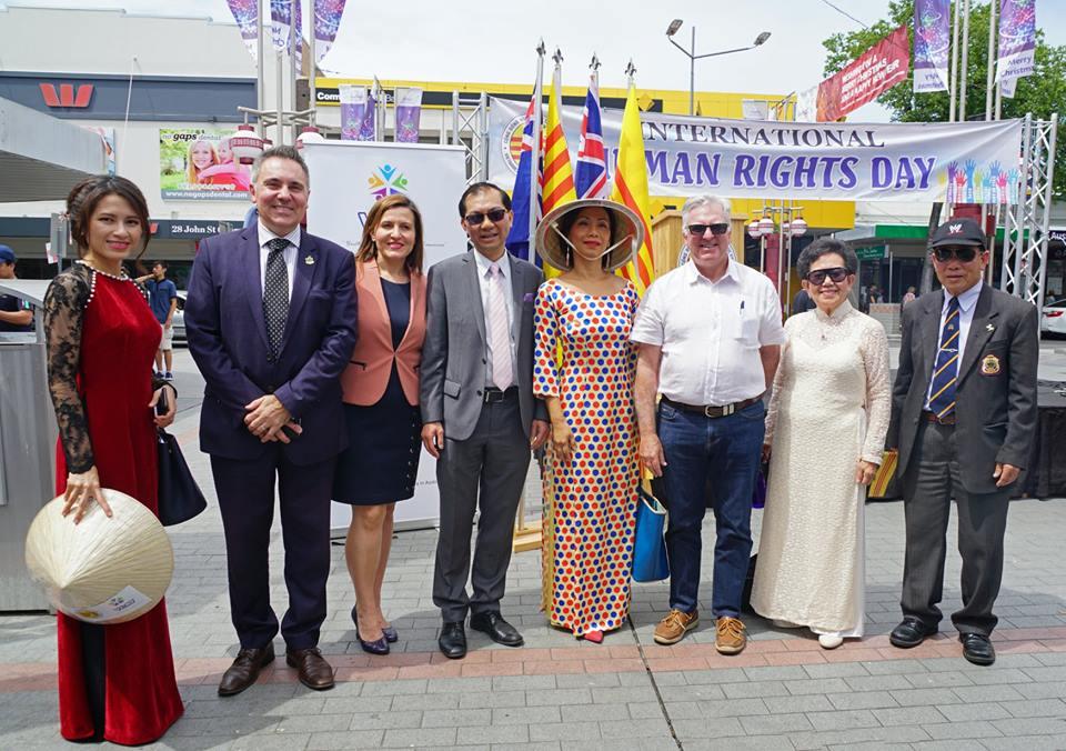 Úc kỷ niệm ngày Quốc Tế Nhân Quyền, lên án CSVN