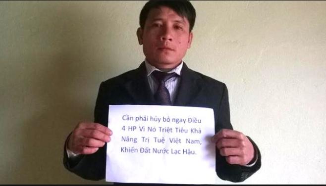 Mục sư Nguyễn Trung Tôn đang bị cô lập trong tù