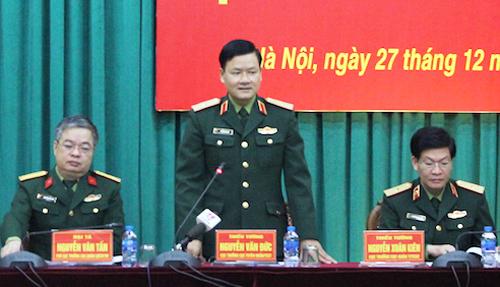 Bộ quốc phòng CSVN giải thể một loạt đơn vị