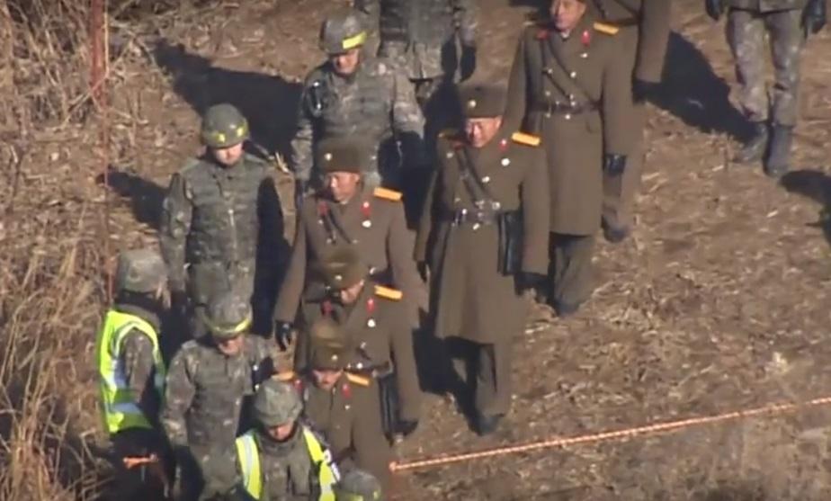 Binh sĩ Nam – Bắc Hàn đi vào lãnh thổ của nhau
