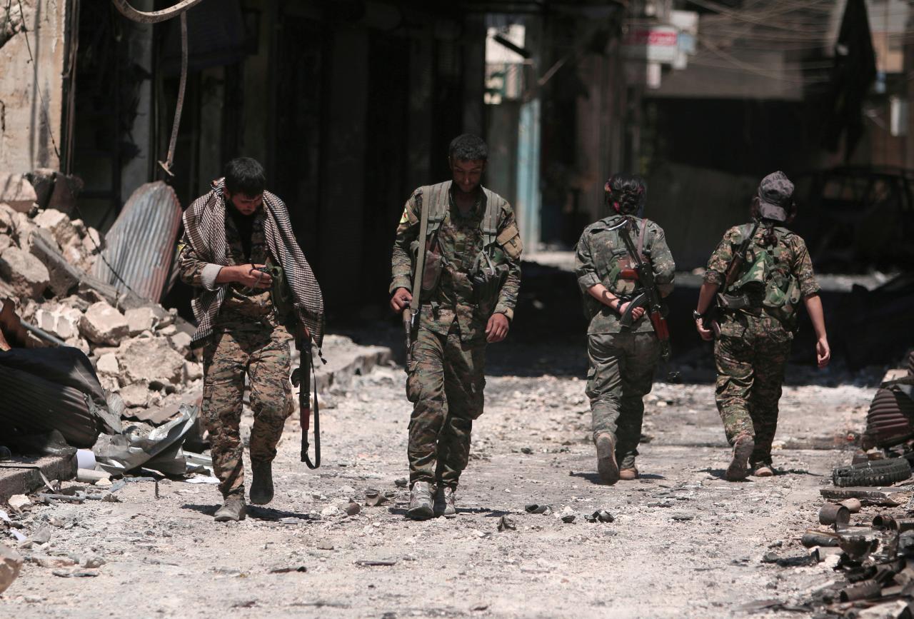 Syria điều động quân đội tới Manbij