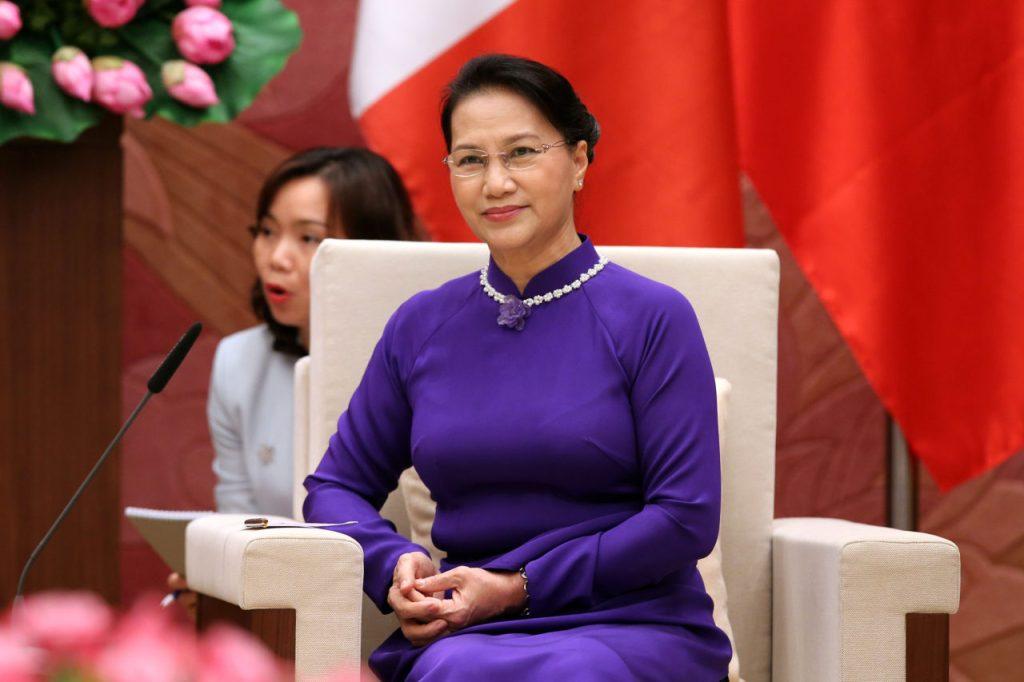 Chủ tịch quốc hội CSVN – bà Nguyễn Thị Kim Ngân nhận phiếu tín nhiệm thấp và tự cho là bình thường