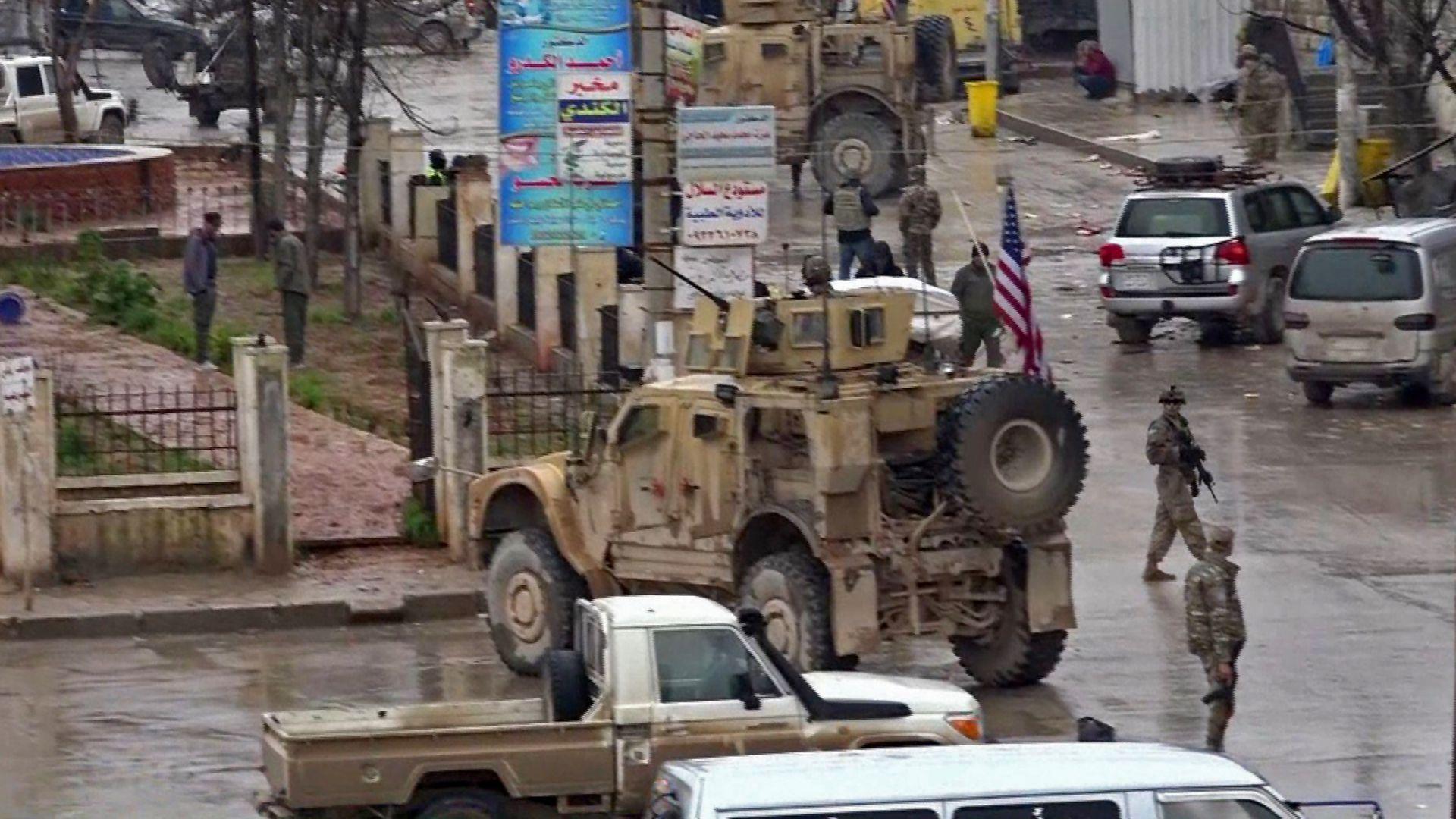 Một số binh sĩ Hoa Kỳ thiệt mạng trong vụ tấn công của Nhà nước Hồi giáo tại Syria