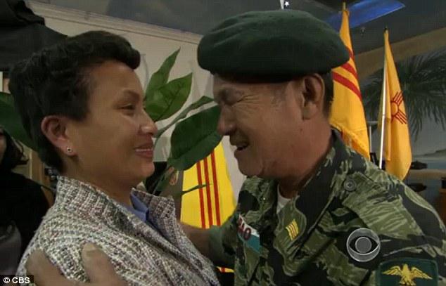 Cựu quân nhân VNCH đoàn tụ với bé gái đã được ông cứu sống tại Việt Nam