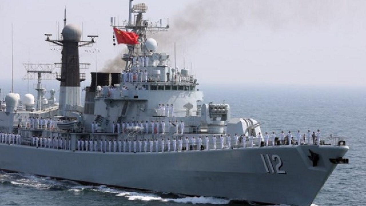 Chiến hạm Trung Cộng cập cảng Cambodia
