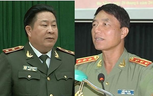 Khung hình phạt cho 2 cựu thứ trưởng bộ công an là từ 3 đến 12 năm tù