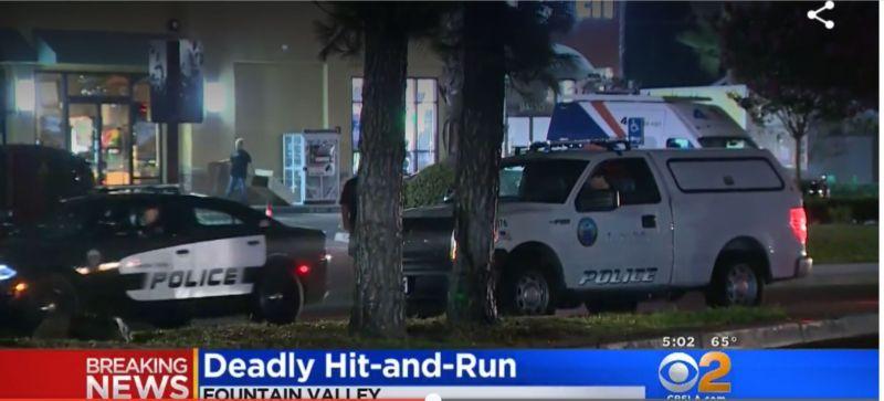 Một Người Đàn Ông Gốc Việt đi bộ bị xe vượt đèn đỏ đụng chết tại Fountain Valley