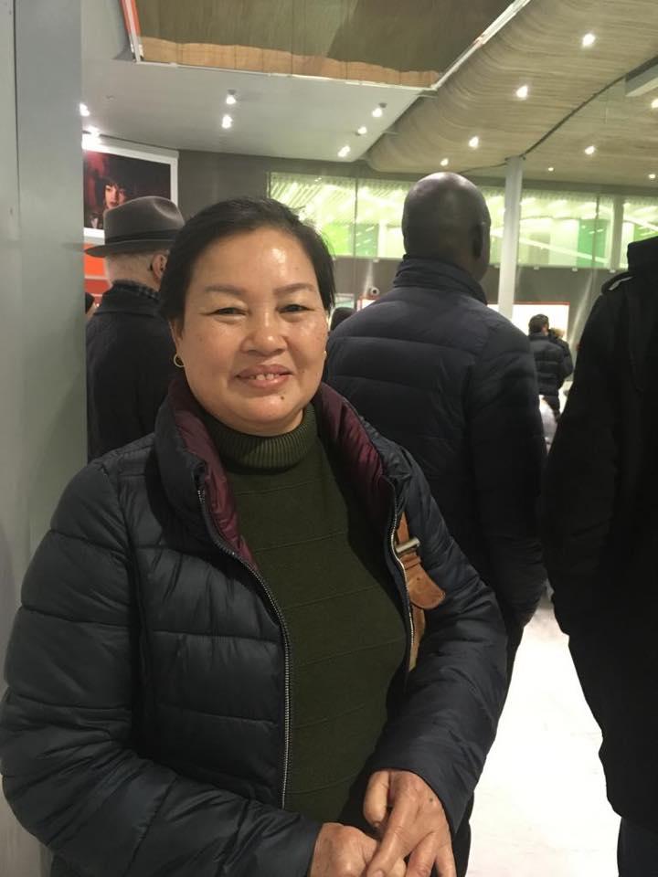 Vợ tù nhân lương tâm Lê Đình Lượng đi vận động ở Geneva