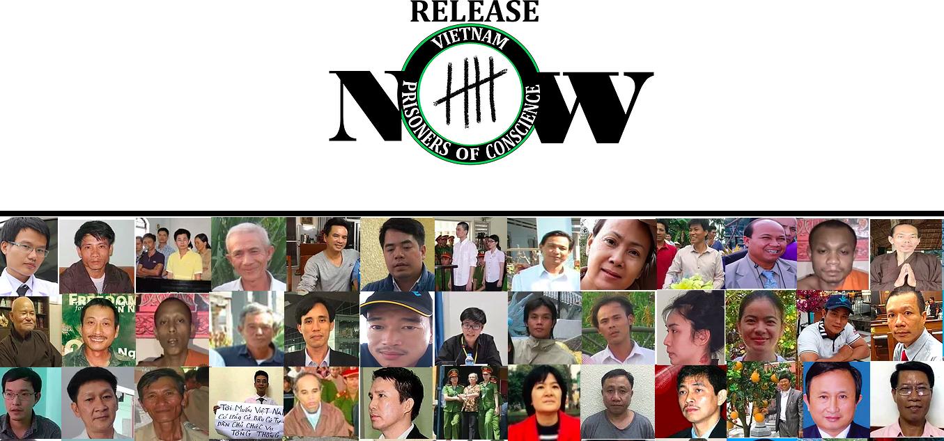 Now!Campaign: Việt Nam đang giam giữ 244 tù nhân lương tâm