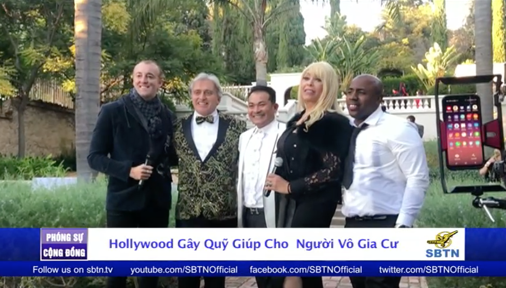 Hollywood gây quỹ để giúp cho những người vô gia cư
