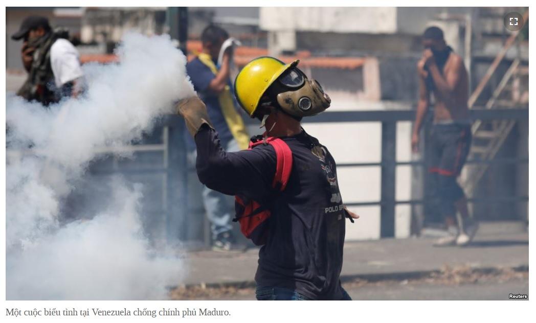 Venezuela và 'tâm trạng Việt Nam' (Mạnh Kim)