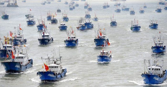 Trung Cộng gia tăng khai thác hải sản ở Biển Đông