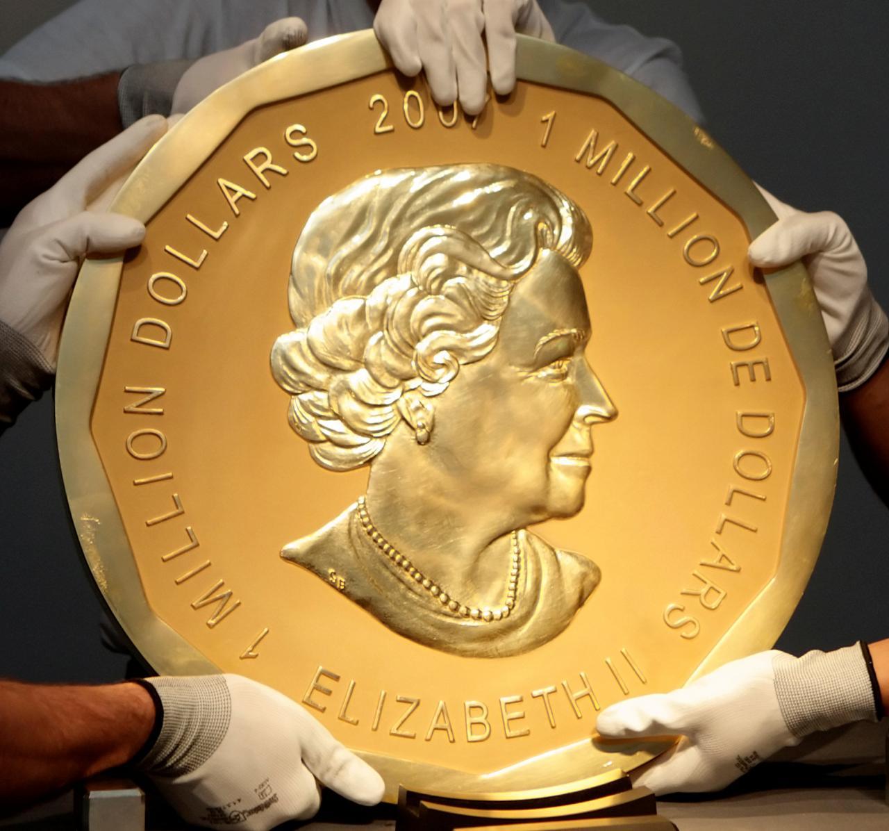 Bốn người đàn ông phải hầu tòa vì tội trộm đồng tiền vàng khổng lồ từ bảo tàng Berlin, Đức quốc