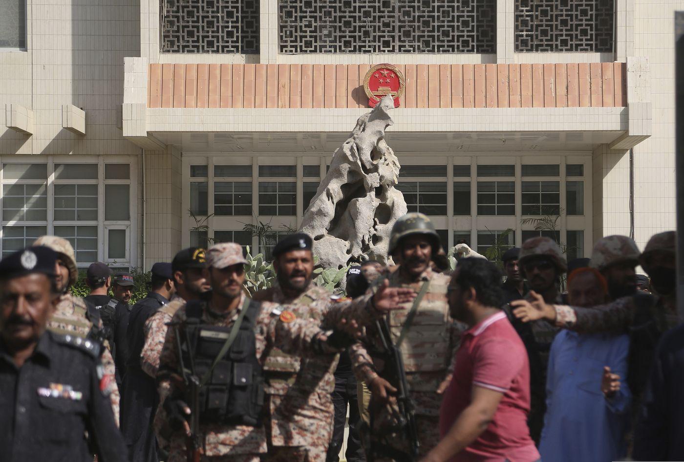 Pakistan bắt giữ 5 người bị tình nghi tấn công tòa lãnh sự Trung Cộng