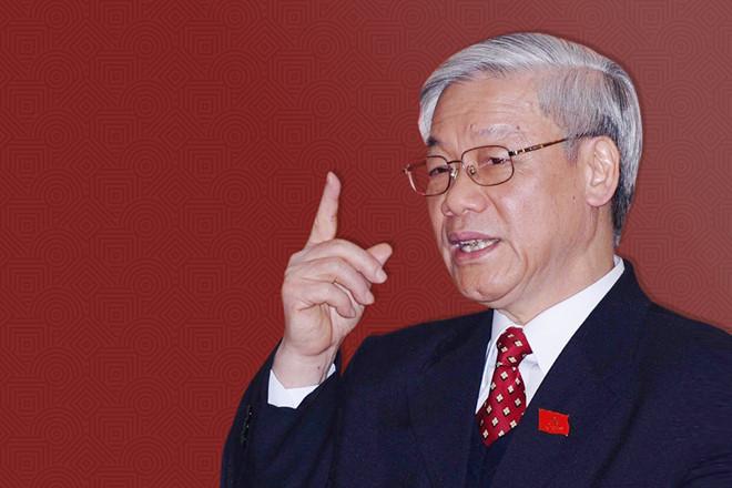 Nguyễn Phú Trọng không cho phép ai làm trái đường lối đảng cộng sản