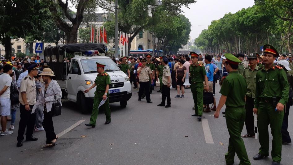 Human Rights Watch kêu gọi EU  hoãn phê chuẩn hiệp định tự do thương mại cho Việt Nam