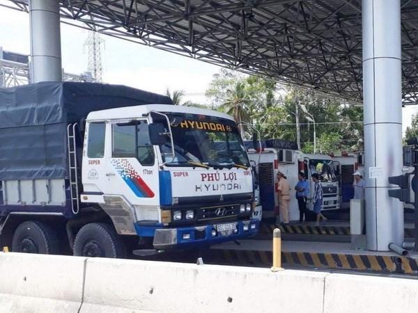 Công an CSVN sẵn sàng trực 24/24 để bảo vệ các trạm BOT sai phạm