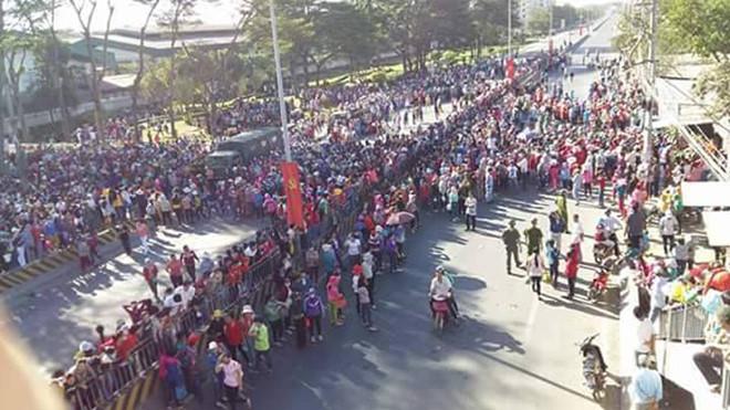 Hơn 10,000 công nhân Đồng Nai đình công đòi quyền lợi hợp pháp
