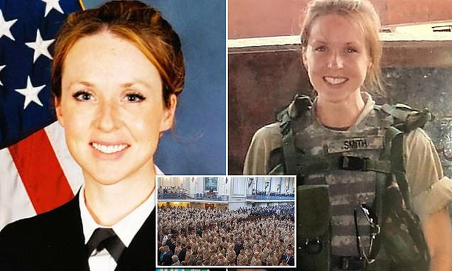 Nữ sĩ quan bị tử vong tại Syria được an nghỉ tại Nghĩa trang Quốc gia Arlington.