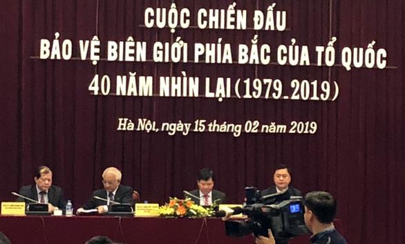"""Cuộc chiến tranh biên giới Việt- Trung 1979 cần được đưa vào sách giáo khoa để """"tránh xuyên tạc"""""""