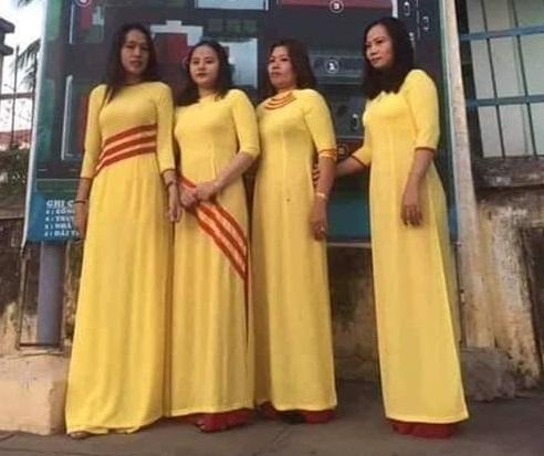 Một người dân ở Bình Thuận bị bắt vì mặc áo vàng sọc đỏ