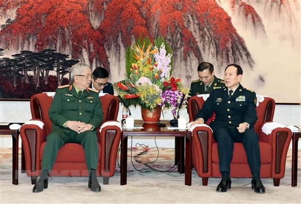 Quân đội CSVN và Trung Cộng lên kế hoạch xây dựng hợp tác