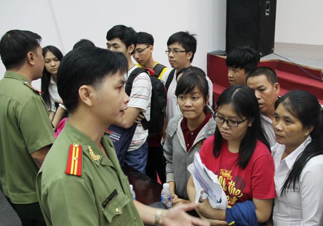 CSVN dừng tuyển sinh đại học công an ở các trường phía Nam