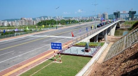 Sắp khánh thành cây cầu thứ hai nối biên giới Việt Nam- Trung Cộng