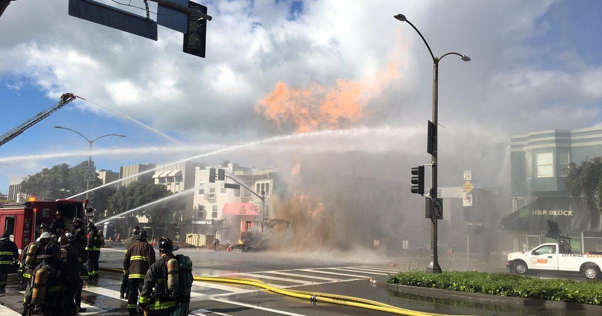 Vỡ đường ống dẫn gas gây hỏa hoạn nghiêm trọng tại San Francisco