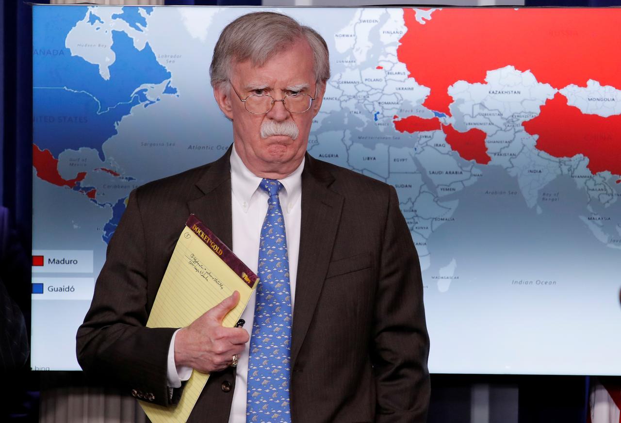 Cố vấn an ninh Hoa Kỳ John Bolton hủy chuyến đi đến Nam Hàn để tập trung vào tình hình ở Venezuela