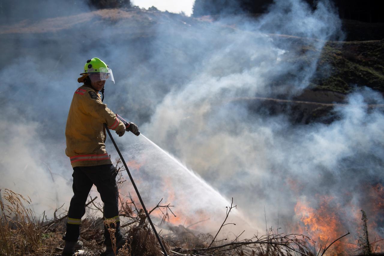 Cháy rừng tại New Zealand không có dấu hiệu suy yếu