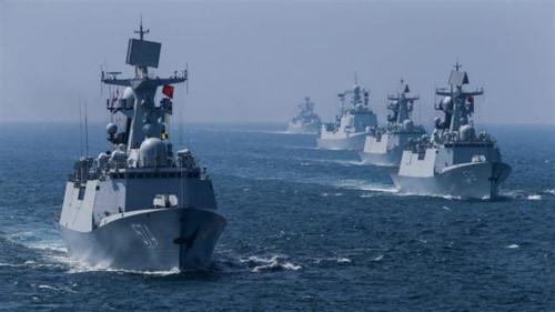 Trung Cộng mang 100 tàu chiến đến Biển Đông