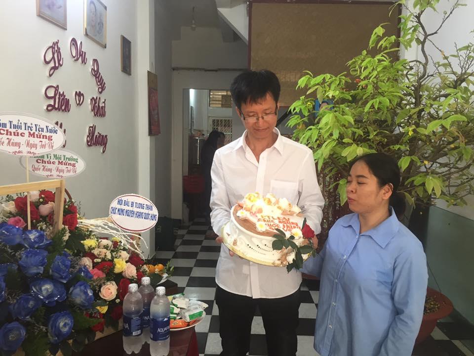 Nhà hoạt động công đoàn Nguyễn Hoàng Quốc Hùng mãn án tù 9 năm