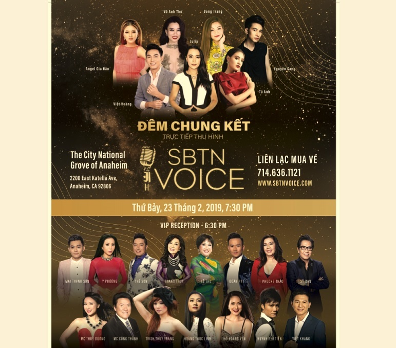 Đêm chung kết SBTN VOICE: sự kiện âm nhạc nổi bật nhất đầu xuân Kỷ Hợi