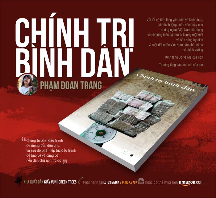Nhà hoạt động Phạm Đoan Trang đang bị đe doạ