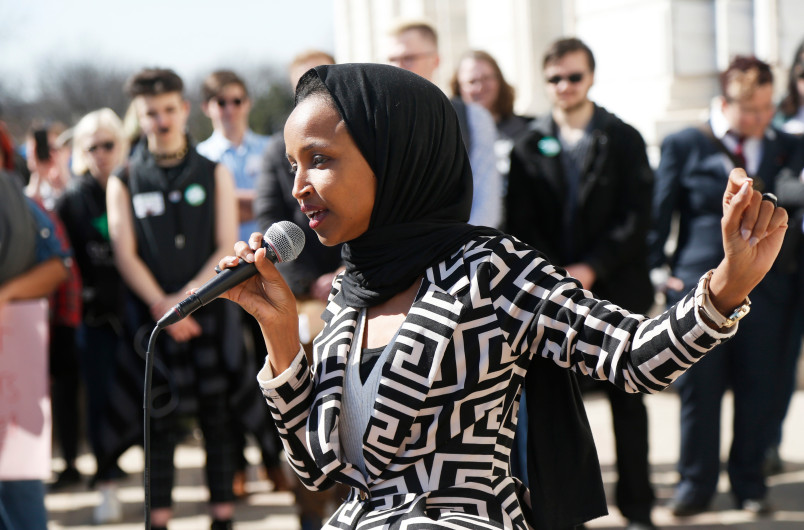 Nữ dân biểu Ilham Omar kêu gọi Los Angeles chống phân biệt đối xử người Hồi giáo