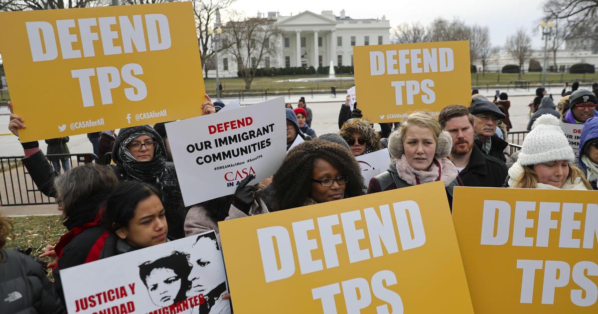 Chính quyền sẽ kéo dài thời hạn bảo vệ tạm thời TPS cho một số di dân nhất định