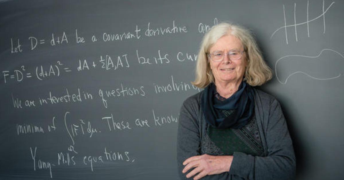 """Giáo sư Karen Uhlenbeck trở thành người phụ nữ đầu tiên trên thế giới nhận được giải được biết đến như """"Nobel Toán học"""""""