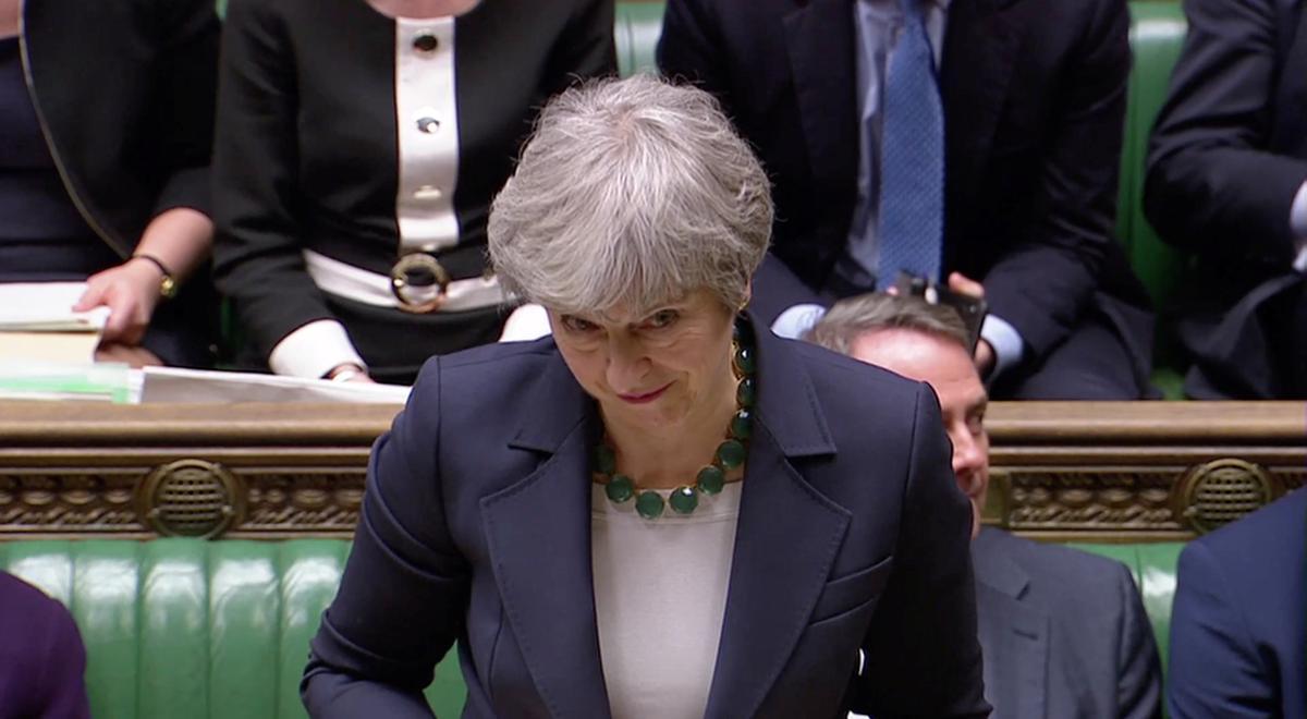 Các nhà lập pháp Anh quốc bỏ phiếu phản đối việc ly khai không có thỏa thuận