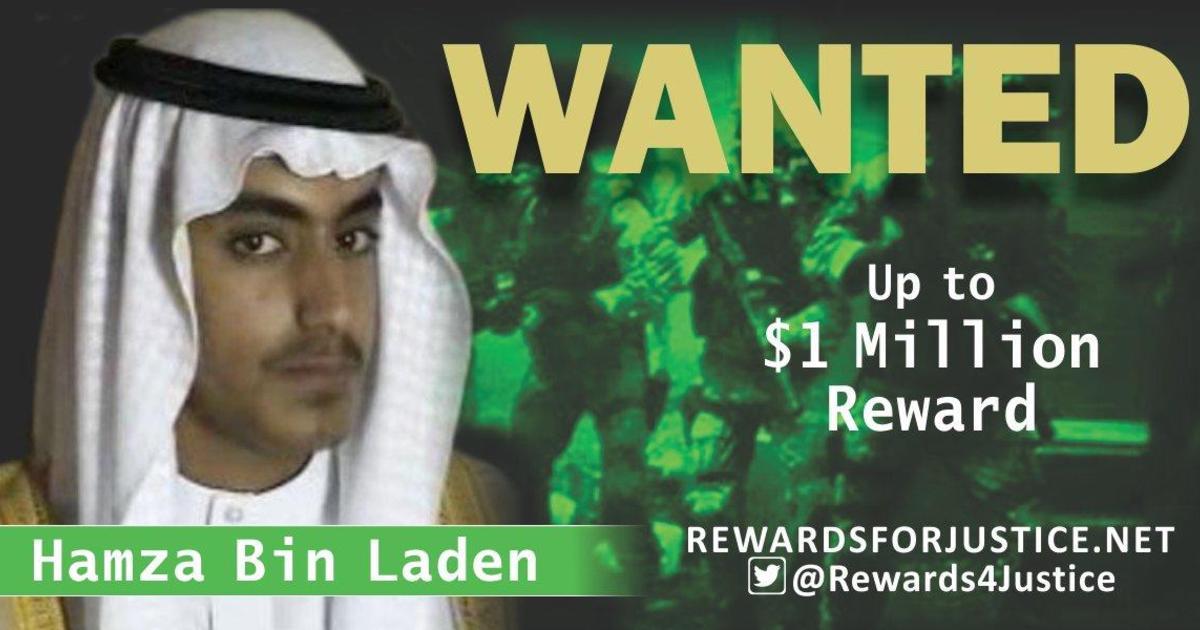 Hoa Kỳ trao thưởng 1 triệu Mỹ kim bắt con trai Osama bin Laden