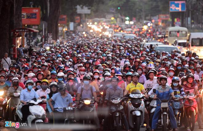 Hà Nội sẽ cấm xe gắn máy, trong 6 triệu chiếc thì xe công an và quân đội chiếm 1 triệu chiếc
