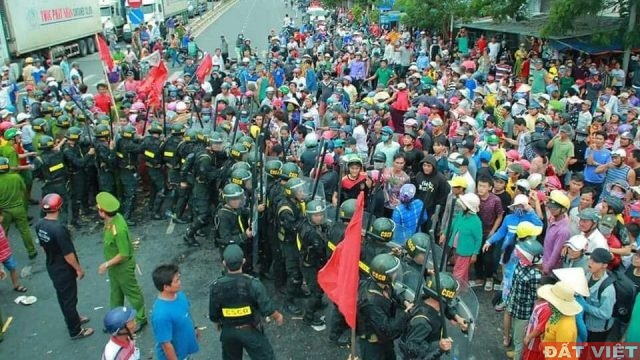 Bình Thuận bỏ tù thêm 15 người tham gia biểu tình