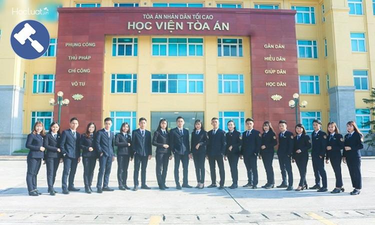 Hạn chế học sinh Việt Nam muốn được vào Học viện tòa án
