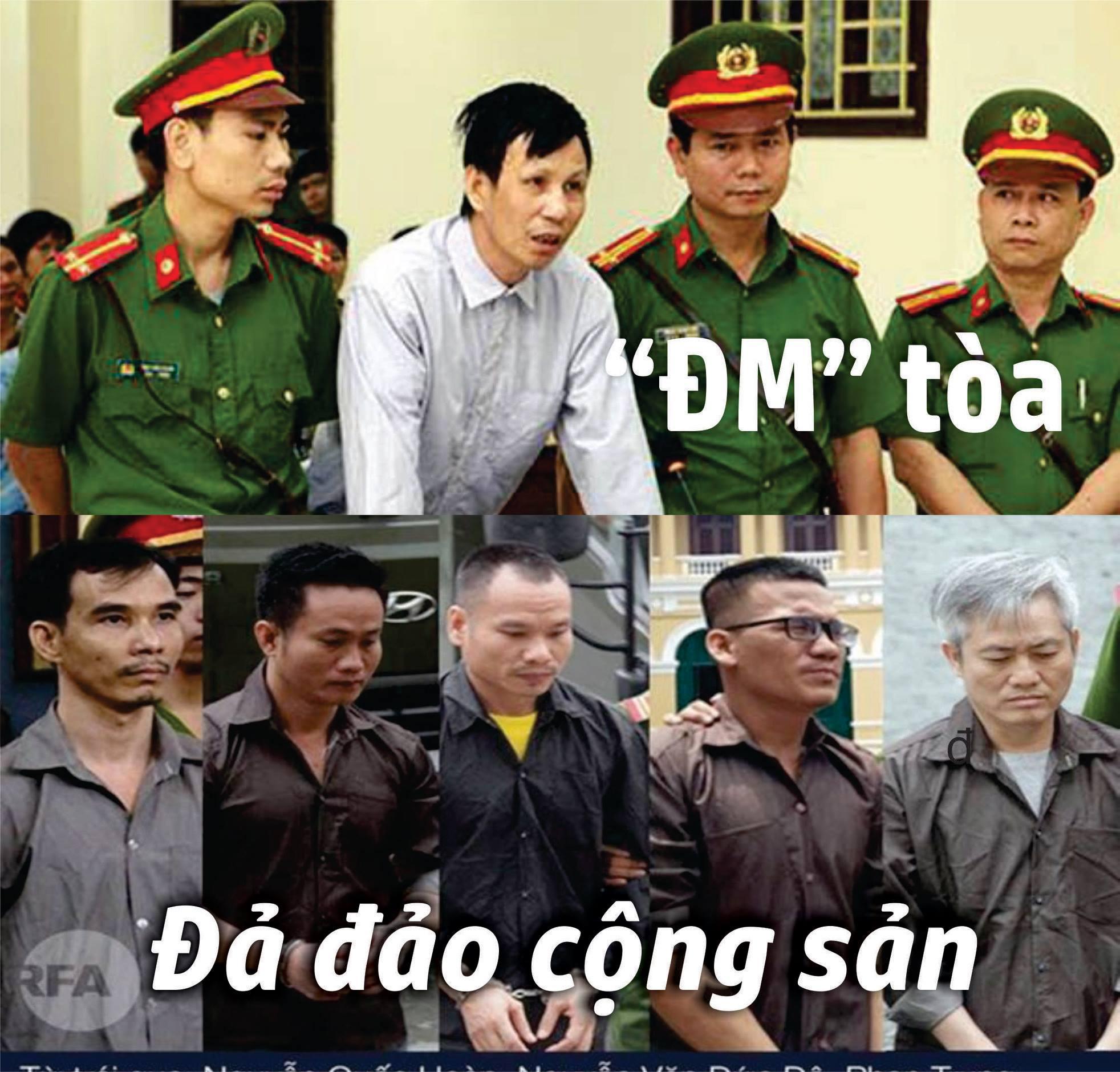 """Từ """"ĐM"""" tòa đến đả đảo cộng sản (Paulus Lê Sơn)"""