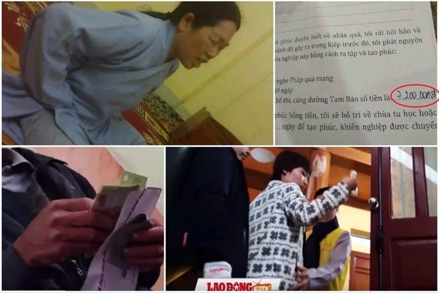 Chùa Ba Vàng tại Quảng Ninh bị đề nghị kỷ luật vì kiếm tiền chữa bệnh bằng thỉnh vong