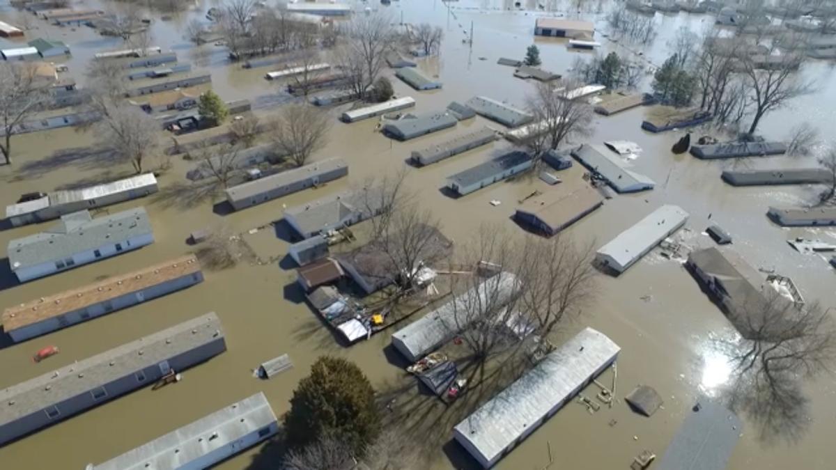 Lũ lụt tràn xuống tiểu bang Missouri và Kansas