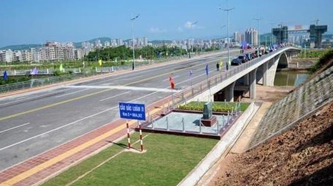 CSVN và Trung Cộng khánh thành cây cầu nối biên giới hai nước