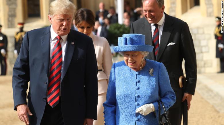 Tổng thống Donald Trump sẽ công du tới Vương quốc Anh vào tháng 6 tới đây