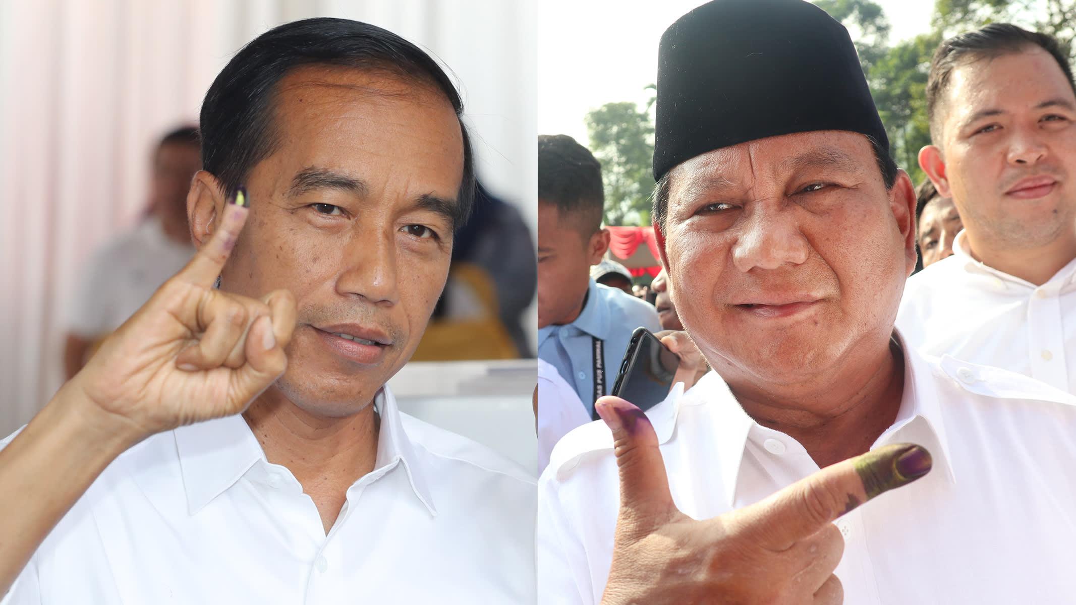 Cả hai ứng cử viên tổng thống của Indonesia đều nhận phần thắng